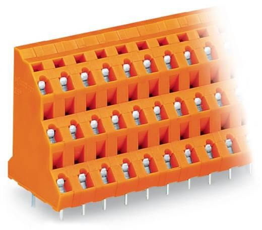 Drie niveau klem 2.50 mm² Aantal polen 6 WAGO Oranje 76 stuks
