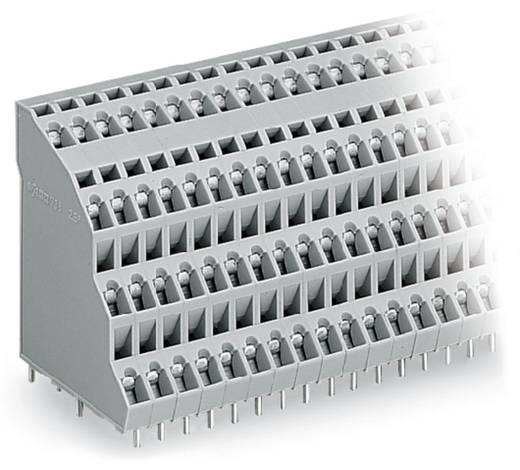 Vier niveau klem 2.50 mm² Aantal polen 96 QUADRUPLE DECK PCB WAGO Grijs 6 stuks