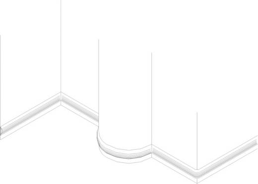 Kabelbrug PVC Bruin Aantal kanalen: 1 183 cm KSS Inhoud: 1 stuks