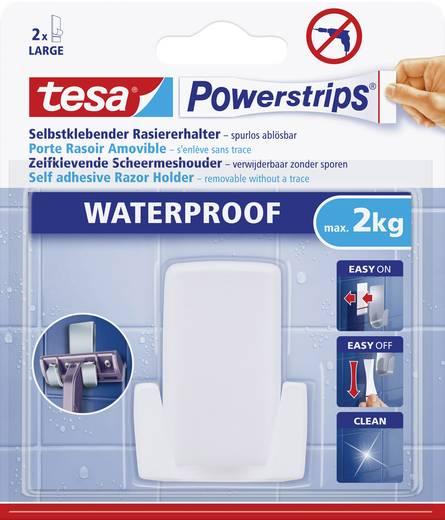 tesa 59703 tesa Powerstrips Waterproof scheermeshouder Wit