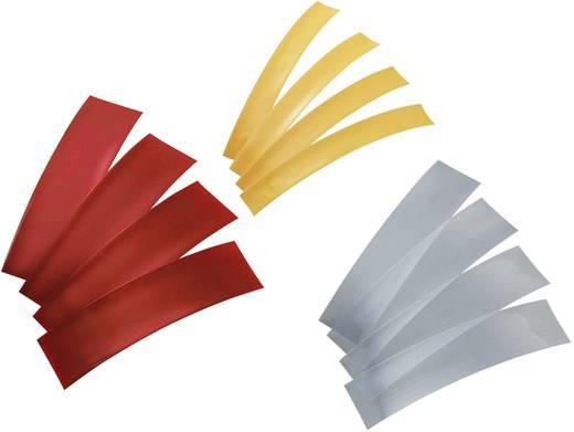 Accukrimpkous zonder lijm Rood, Transparant, Geel Krimpverhouding:2:1 Conrad Components 544903 1 set