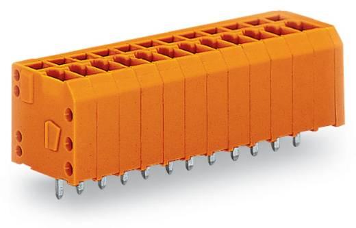 Veerkachtklemblok 1.50 mm² Aantal polen 4 WAGO Oranje 280 stuks