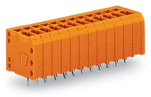 Veerkachtklemblok 1.50 mm² Aantal polen 4 KLEMMENL.CC,EINPRESS 3,81MM 4-P.ORAN WAGO Oranje 280 stuks