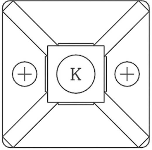 Bevestigingssokkel Zwart KSS 540433 HCR101S 1 stuks
