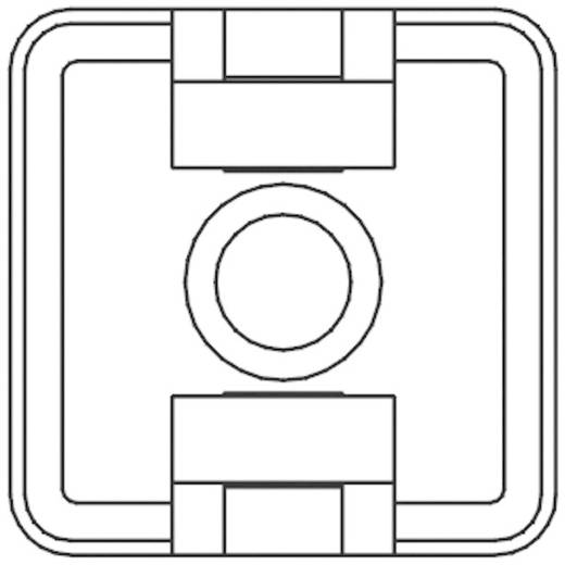 Bevestigingssokkel Zwart KSS 541283 HCR18T 1 stuks