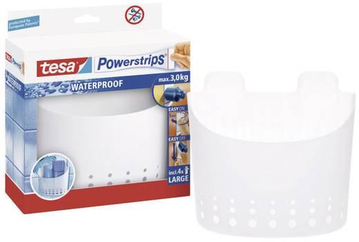 tesa 59706 tesa Powerstrips® Waterproof mand Wit