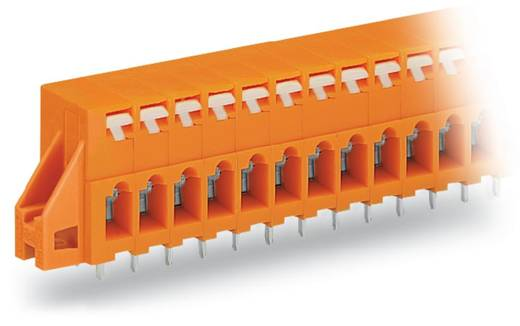 Veerkachtklemblok 2.50 mm² Aantal polen 12 741-242 WAGO Oranje 60 stuks