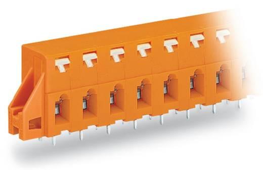 Veerkachtklemblok 2.50 mm² Aantal polen 7 WAGO Oranje 60 stuks