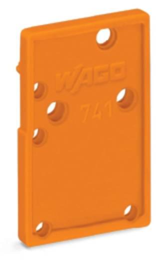 Afsluitplaat 741-600 WAGO Oranje 100 stuks