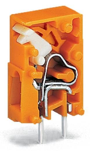 Veerkachtklemblok 2.50 mm² Aantal polen 1 741-911 WAGO Oranje 4320 stuks