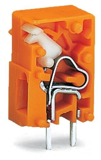 Veerkachtklemblok 2.50 mm² Aantal polen 1 WAGO Oranje 2880 stuks