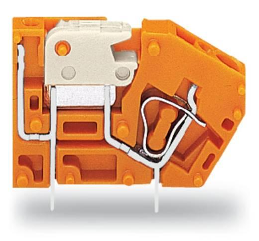 Veerkachtklemblok 2.50 mm² Aantal polen 1 742-106 WAGO Oranje 384 stuks