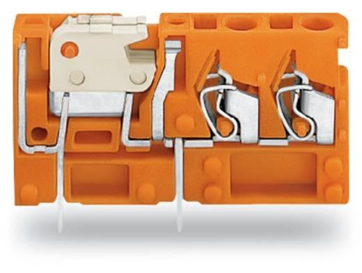 Veerkachtklemblok 2.50 mm² Aantal polen 1 742-156 WAGO Oranje 200 stuks