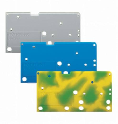 Afsluitplaat 742-850 WAGO Groen-geel 300 stuks