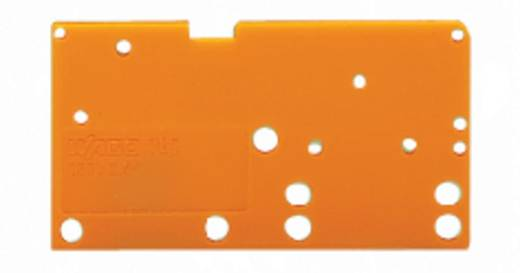 Afsluitplaat WAGO Oranje 300 stuks