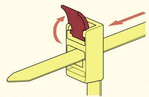 HellermannTyton 115-00001 SPEEDYTIE-PA66-YE-V1 Kabelbinder 750 mm Geel, Rood Hersluitbaar 5 stuks