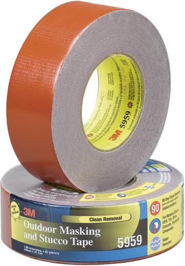 3M Textieltape Rood (l x b) 41.1 m x 48 mm Rubber Inhoud: 1 rollen