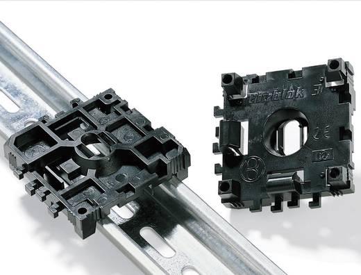 HellermannTyton DINBLOK3-POM-BK Extra bevestiging DIN-blok 1 stuks