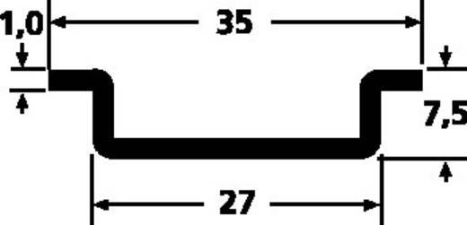 HellermannTyton DELTA3-ST-UNGEL-WC DIN-rail Ongeperforeerd Plaatstaal 2000 mm 1 stuks