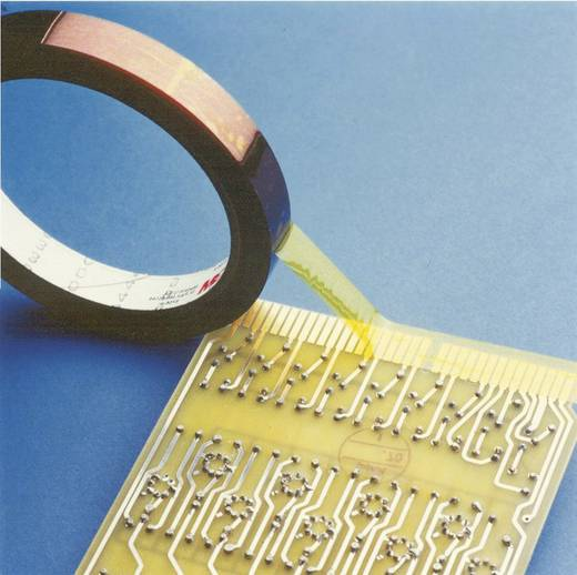 3M Isolatietape Transparant (l x b) 33 m x 15 mm Silicone Inhoud: 1 rollen