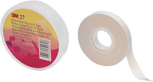 3M Scotch 27 Textieltape Wit (l x b) 20 m x 12 mm Rubber Inhoud: 1 rollen