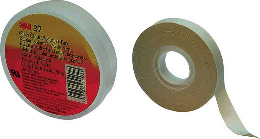 3M Scotch 27 Textieltape Wit (l x b) 20 m x 19 mm Rubber Inhoud: 1 rollen