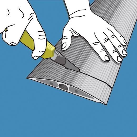 Kabelbrug Thermoplast Donkergrijs Aantal kanalen: 1 3000 mm Serpa Inhoud: 1 stuks