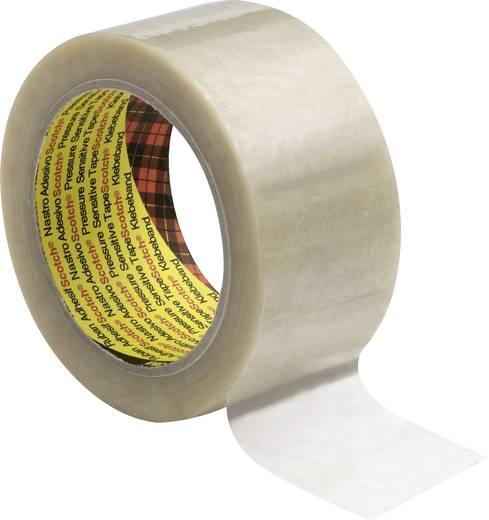 3M Scotch Verpakkingstape Transparant (l x b) 66 m x 50 mm Rubber Inhoud: 1 rollen