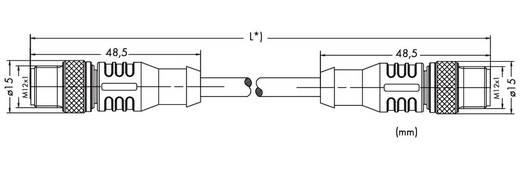 WAGO 756-1203/060-200 ETHERNET-/PROFINET-kabel, axiaal Inhoud: 1 stuks