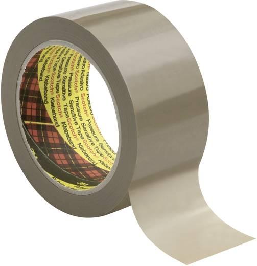 3M Scotch Verpakkingstape Bruin (l x b) 66 m x 50 mm Rubber Inhoud: 1 rollen