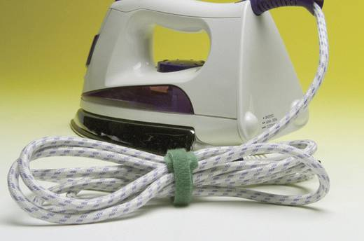 TESA On & Off Klittenband kabelbinders om te bundelen Haak- en lusdeel (l x b) 200 mm x 12 mm Bont 5 stuks