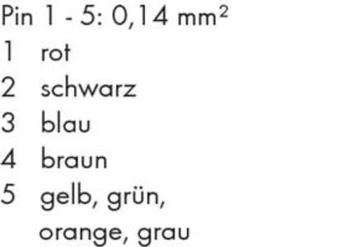 WAGO 756-1505/060-020 Systeembus-/sleepkabel, axiaal Inhoud: 1 stuks