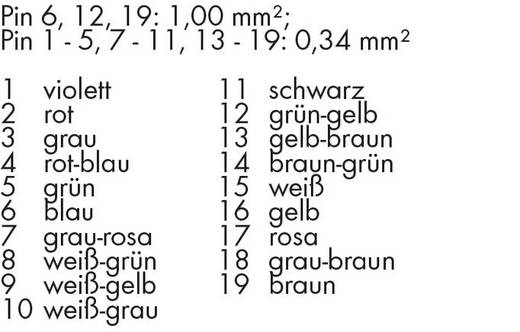 WAGO 756-3203/190-150 Verbindingskabel Inhoud: 1 stuks