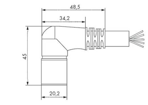 WAGO 756-3206/140-150 Verbindingskabel Inhoud: 1 stuks