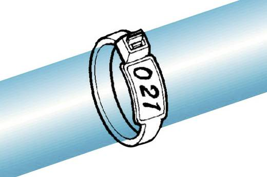 Kabelbinder met tekstveld IT50R-PA66-NA-C1 HellermannTyton Inhoud: 1 stuks