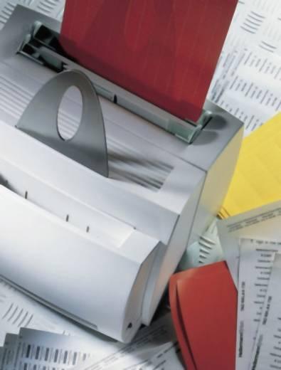 Helatag etiketten voor laserprinters met beschermlaminaat Etiketten per vel: 24 Wit, Transparant HellermannTyton Inhoud