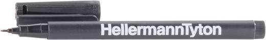 HellermannTyton T82S-BK, PAAR RiteOn markeerstift Markeerstift T82 Etiketten per vel: 0 Zwart Inhoud: 2 stuks