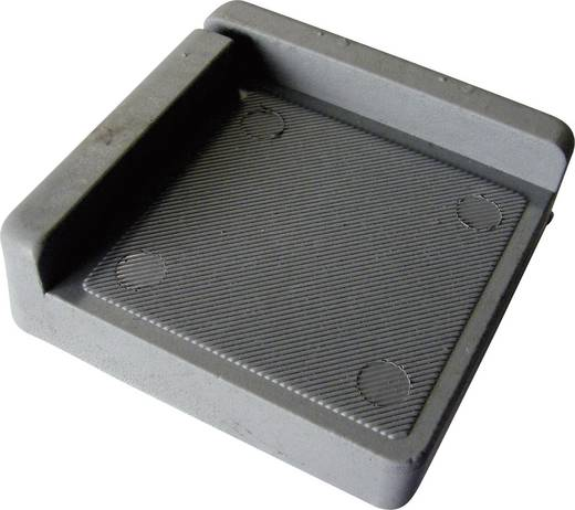PB Fastener 121845 Dempingshoek Grijs (l x b x h) 75 x 75 x 25 mm 1 stuks