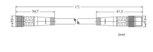 WAGO 756-5201/030-010 Sensor-/actuatorkabel Inhoud: 10 stuks