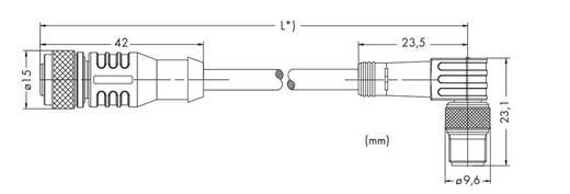 WAGO 756-5502/030-010 Sensor-/actuatorkabel Inhoud: 10 stuks