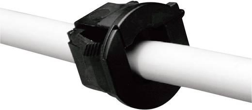 Wartel Klem-Ø (max.) 9.8 mm Polyamide Zwart PB Fastener H-1857 1 stuks