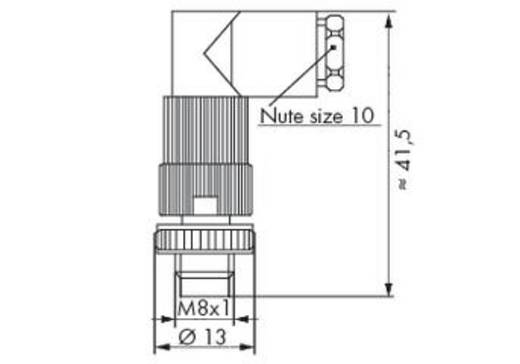 WAGO 756-9105/030-000 Connector voor sensor-/actuatorkabel Inhoud: 5 stuks