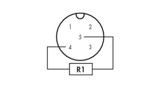 WAGO M12-afsluitstekker Inhoud: 1 stuks