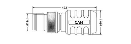 WAGO 756-9209/060-000 M12-afsluitstekker Inhoud: 1 stuks