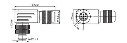 WAGO 756-9211/060-000 M12-stekker Inhoud: 1 stuks