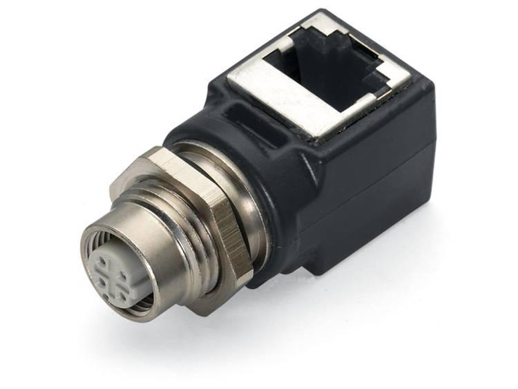 WAGO ETHERNET ADAPTER M12-RJ45 WINKL Adapter M12 socket 1 stuks