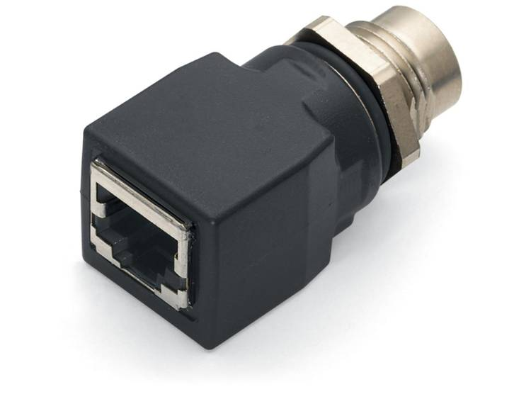 WAGO ETHERNET ADAPTER M12 SOCKET D-CODED Adapter M12 socket 1 stuks