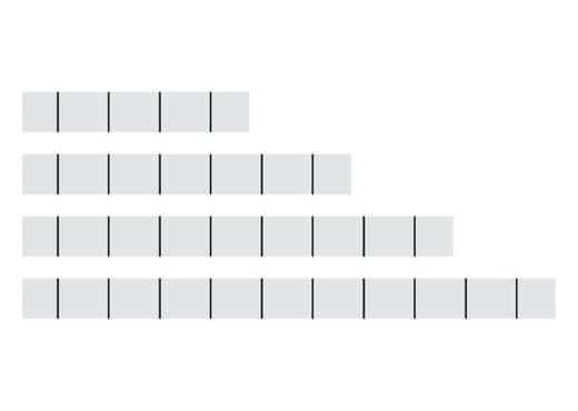 WAGO Opschriftstroken Inhoud: 100 stuks
