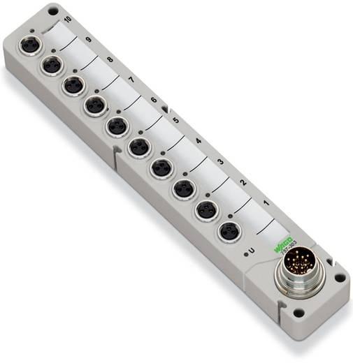 Passieve sensor/actorbox M8-verdeler met metalen schroefdraad 757-303