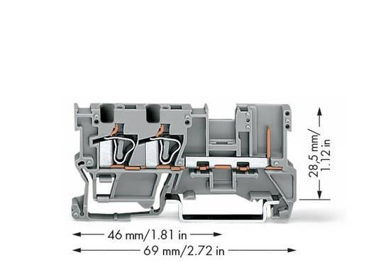 WAGO 769-251 2-draads/1-pins basisklem 50 stuks